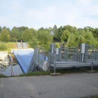 Mobile Pontonbrücke für den dauerhaften Einsatz