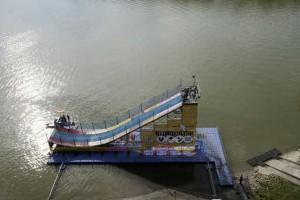 Hydrokultur Schwimmplattform Schanze