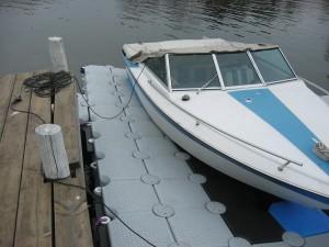 Bootsteg für die Freizeit