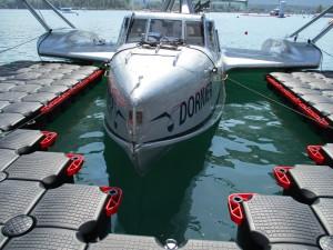 Schwimmstege für Boote